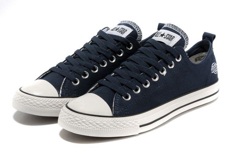 5ebea426d4182 Chaussure de Basket Converse All Star Low Homme Pas Cher Bleu