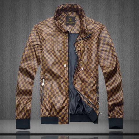 67836aa2412 ... Veste Louis Vuitton Homme Marron 2013 Pas Cher