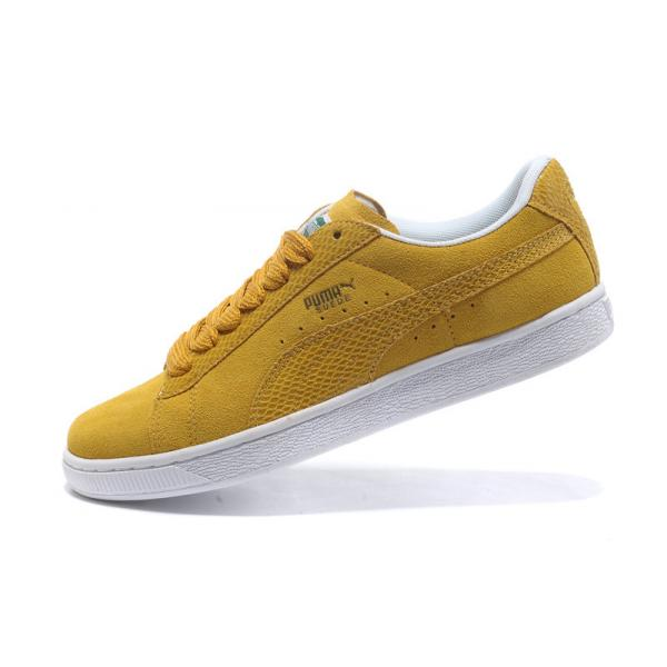 puma suede jaune moutarde. Black Bedroom Furniture Sets. Home Design Ideas