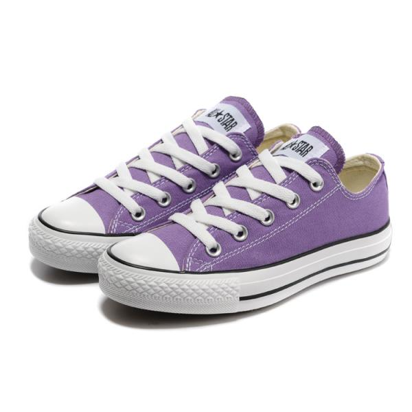 2189f18c422bc ... Converse Chuck Taylor All Star Basse Femme Violet