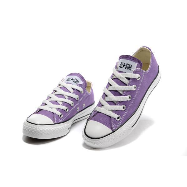 Converse violet et gris akileos - Violet et gris ...