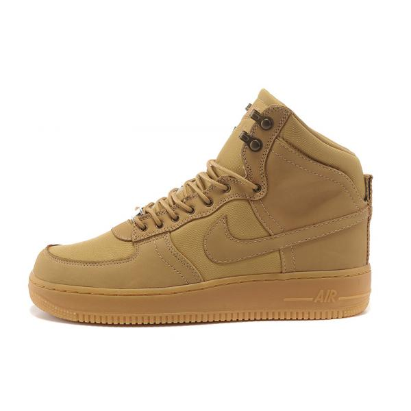 competitive price 2f287 efae7 Basket Nike Air Force One Mid Marron Pas Cher