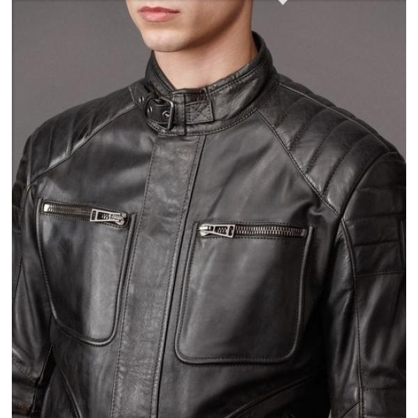 blouson cuir belstaff homme. Black Bedroom Furniture Sets. Home Design Ideas