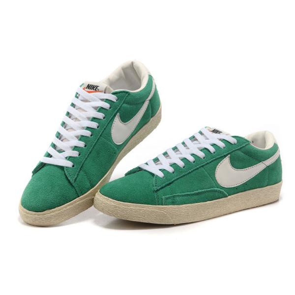 competitive price bd81d 1161a chaussure basket nike blazer cuir vert prix discount. Latest Nike Blazer Low  Suede Vintage Homme NoirBlanc