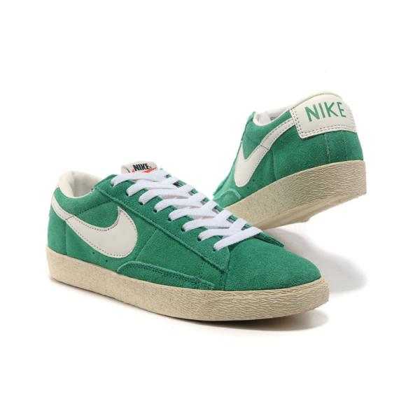 new arrival dd32f 48f5f chaussure basket nike blazer cuir vert prix discount